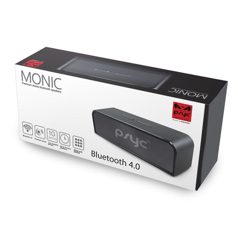 PSYC Monic Premium Stereo Bluetooth Speaker 20 watt (10Wx2)
