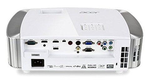 Acer H7550ST 1080p 3000LM 16000:1 Wirelss HDMI White w/ speakers and Chromecast Compatible