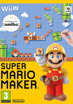 Super Mario Maker for Nintendo Wii U with Artbook Video Game Console Accessory