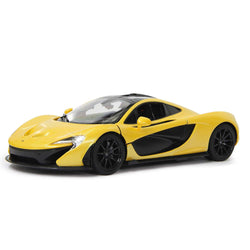 Jamara R/C Car McLaren P1 Remote Control 1:14 scale Sports Yellow Rechargeable NiMH Battery Operated