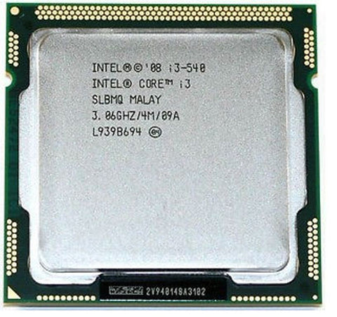 Intel i3-540 3.06GHz Processor LGA Socket 1156 CPU iMac A1311 Mid-2010 SLBTD 661-5534