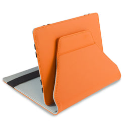 "Pred8tor LEO 7"" - 7.9"" Orange Universal iPad Mini, Android/Samsung Galaxy Tab & Tablet Folio Case/Cover with Integrated Stand"