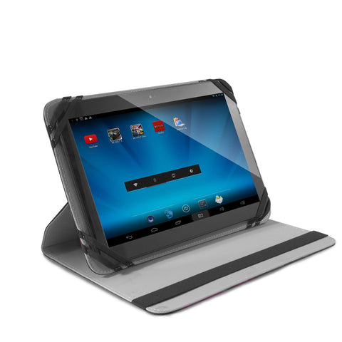 "LEO 9.7""/10.1"" Universal Black Outer/Grey Inter Tablet Cover"