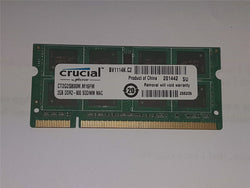 Apple Certified Crucial 2GB (1x2GB) DDR2 800mhz PC2-6400 CT2G2S800M.M16FM SoDIMM