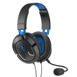 New Turtle Beach Recon 50P Stereo Gaming Headset Blue Black PS4/Xbox One Video Console