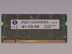 Integral iMac/Macbook Laptop Memory 1GB DDR2 667mhz PC2-5300 SoDimm IN2V1GNWKEX