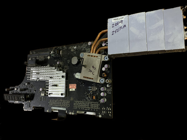 "Apple iMac A1312 27"" 3.06gHz 820-2507-A Core2Duo 2009 Intel Logic Board 661-5319 + Processor"