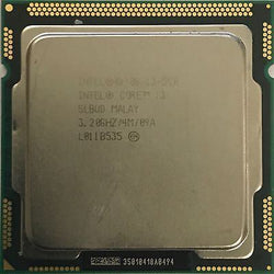 Intel i3-550 3.2ghz Processor LGA1156 iMac A1311 2009/2010 CPU SLBUD Socket H
