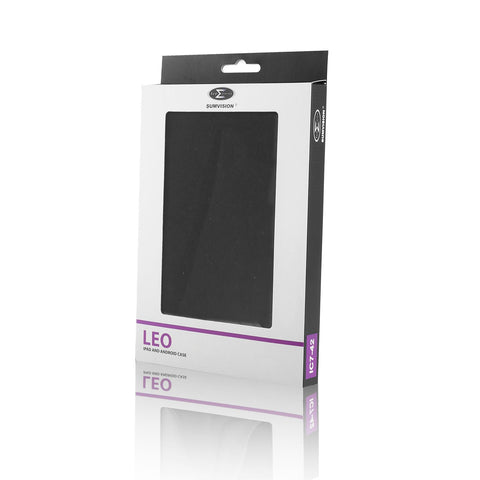 "LEO 7"" Universal Black outer/Grey Inter Tablet Cover"