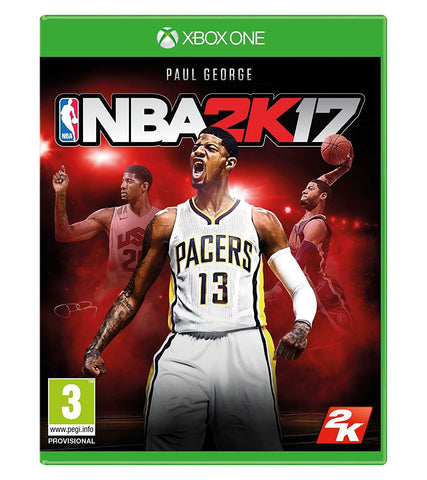 New Sealed NBA 2K17 XB1 ENG Basketball Video Sports Game Xbox One