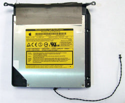 "Apple iMac A1225 24"" 2007 / 2008 UJ-875 DVD RW Optical Drive 678-0570A PATA IDE (Refurbished) with Caddy Enclosure and Cable"