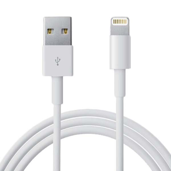 LMS Data Lightning Cable White for Charging iPad/iPhone 5,6,7,7 plus,8,X,XS,XS M