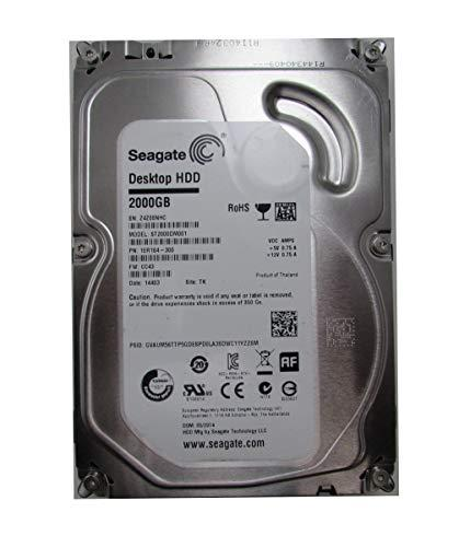 Seagate ST2000DM001 2TB SATA III Performance Hard Disk Drive Internal 3.5'' HDD
