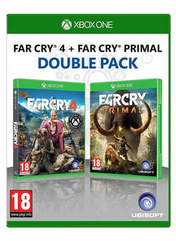New Sealed Far Cry 4 + Far Cry Primal Double Pack Action Adventure Video Games for Xbox One