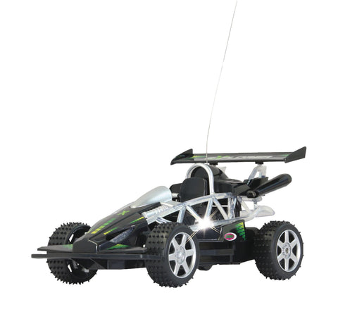 Jamara Remote Controlled R/C Buggy Explorer RTR / With Lights 1:14 Scale Black Toy Car
