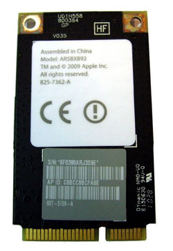 Apple iMac A1312 A1311 21.5 27in WiFi Airport Card 825-7362 607-3759-A AR5BXB92 Refurbished