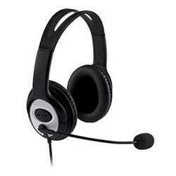 Dynamode DH-660 Headset and Microphone Dual 3.5mm Jack PC Desktop Headphones