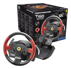 Thrustmaster T150 Ferrari Racing Wheel and Pedal Set PC / PS3 / PS4 Playstation Comaptible