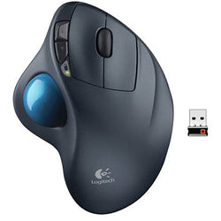 Logitech Wireless Trackman Track Ball M570 V2 Mouse 4 Buttons Black