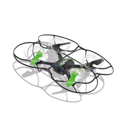 Jamara R/C Drone MotionFly G-Sensor Compass Turbo Flip 2.4 GHz Control Black/Green