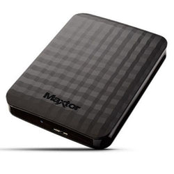 "Maxtor M3 Portable 1TB External Hard Disk Drive 2.5"" USB 3.0 Black Portable Backup Laptop/Macbook/PC"