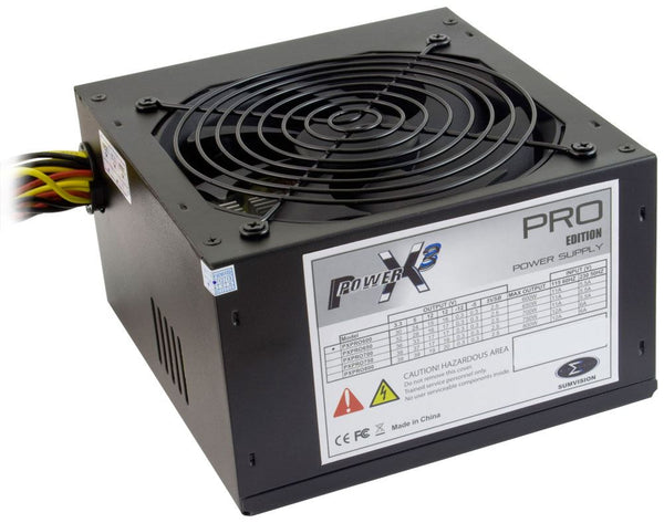 Power X3 600 Watt PSU