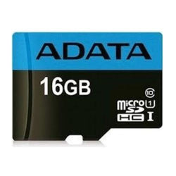 ADATA 16GB Premier Micro SD Card with SD Adapter, UHS-I Class 10 Smartphone/Camcorder/Camera Memory Card