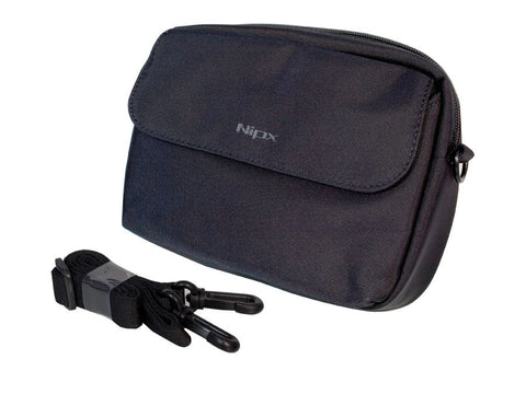 Pred8tor Camera Bag N-3018 (XL) Carrying Case Black Neoprene Waterproof Nipx Design N3018 with Carrying Shoulder Strap
