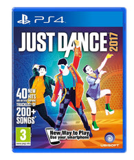 New Sealed Just Dance 2017 Competition Kids Entertainment Video Game for PS4