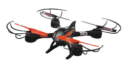 Jamara R/C Drone Loky 4+4 Channel RTF / Photo / Video / With Lights / 360 Flip / FPV 2.4 GHz Control Black