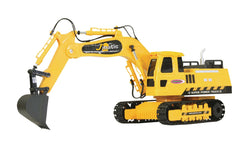 Jamara R/C Digger J-Matic 4+3 Channel RTR / Sound / With Lights 2.4 GHz Control 1:27 Yellow