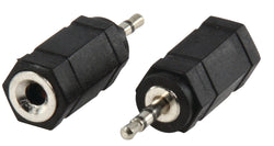 Valueline Adapter plug 2.5mm stereo plug to 3.5mm stereo socket