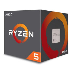 AMD Ryzen 5 1400 CPU with Wraith Cooler, AM4, 3.2GHz (3.4 Turbo), Quad Core, 65W, 10MB Cache, 14nm, No Graphics