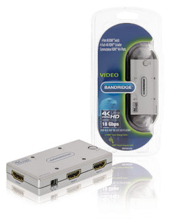 4-Port Ultra HD HDMI Switch Silver