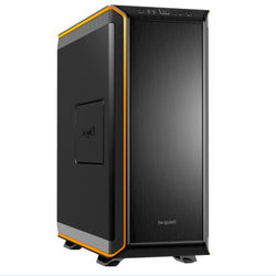 Be Quiet! Dark Base 900 Gaming Case, E-ATX, No PSU, Tool-less, 3 x Silent Wings 3 Fans, Modular Construction, Black & Orange