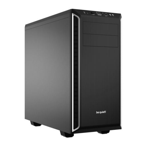 Be Quiet! Pure Base 600 Gaming Case, ATX, No PSU, 2 x Pure Wings 2 Fans, Black/Silver