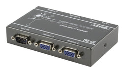 4-Port VGA Splitter Grey
