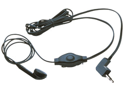 Headset In-Ear 2.5 mm Built-In Microphone Black