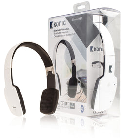 Konig Bluetooth Headset - White