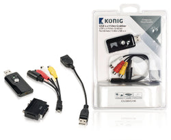 Konig USB 2.0 Video Grabber
