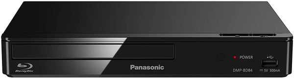 Panasonic DMP-BD84EB-K Smart Network 2D Blu-ray Disc/DVD Player - Black (Netflix,Prime,Youtube)