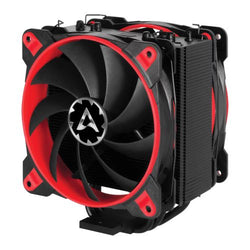 Arctic Freezer 33 eSports Edition Heatsink & Fan, Black & Red, Intel & AM4 Sockets, 2 x Fans, Fluid Dynamic Bearing, 10 Year Warranty