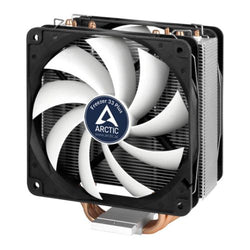 Arctic Freezer 33 Plus Semi Passive Heatsink & Fan, Intel & AM4 Sockets, Dual Ball Dynamic Bearing, 6 Year Warranty