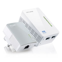 TP-LINK (TL-WPA4220KIT) 300Mbps AV600 Wireless N Powerline Adapter Kit