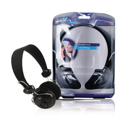 HQ Compact HiFi Headphones with 30mm Neodymium Drivers for Quality Reproduction