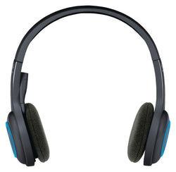 Logitech H600 headset cordless black-blue