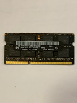 Micron Apple RAM 4GB DDR3 1600mhz MT16JTF51264JHZ-1G6M2 PC3-12800F SoDimm Memory iMac/Macbook 2011-2015
