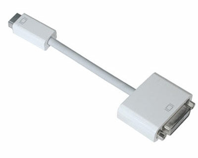 Pred8tor Apple iMac MacBook Mini-DVI to VGA White Display Monitor Screen Output Cable
