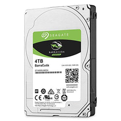 "Seagate 2.5"", 4TB, SATA3, BarraCuda Hard Drive, 5400RPM, 128MB Cache, 7mm"
