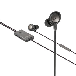 Sweex Headset ANC (Active Noise Cancelling) In-Ear 3.5 mm Wired Built-In Microphone 120 cm Anthracite/Black [SWANCHS100GY]